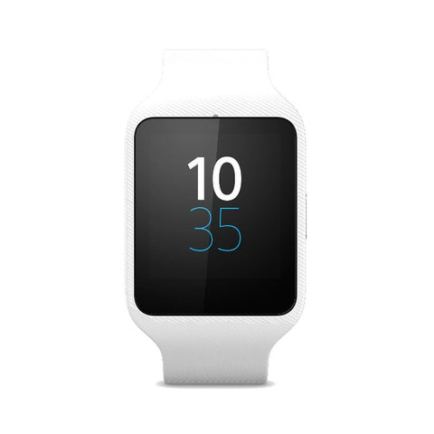 Sony SWR50 SmartWatch 3 with Silicon WristBand (White)