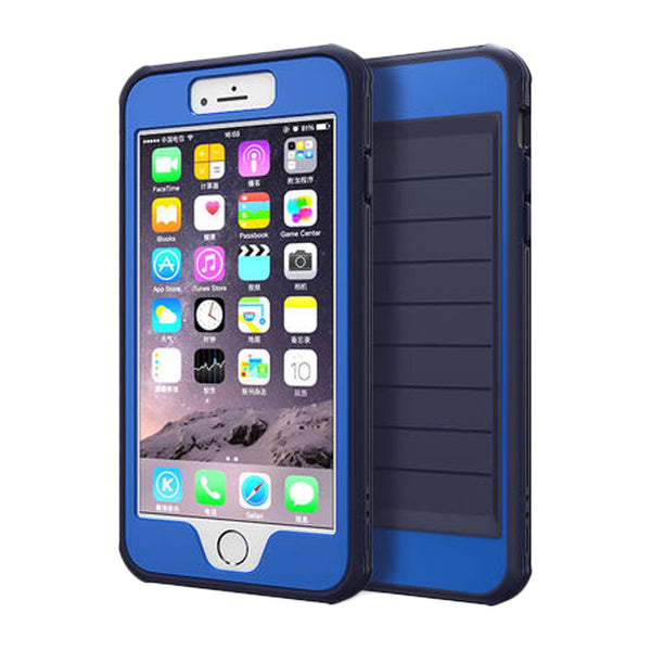 Anti Drop Silicone Phone Shell 4.7 inch for iPhone 6/6S (Blue)