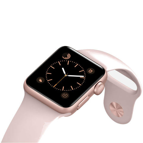 Apple Watch 2 38mm Aluminum Case Sport Band MNNY2 (Pink Sand)