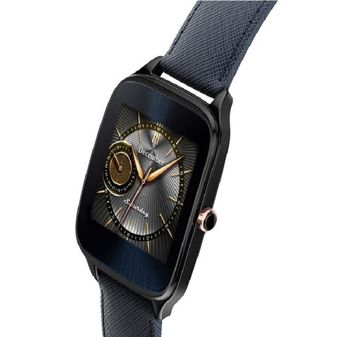 Asus WI501Q Zen Watch 2 Leather (Dark Blue)