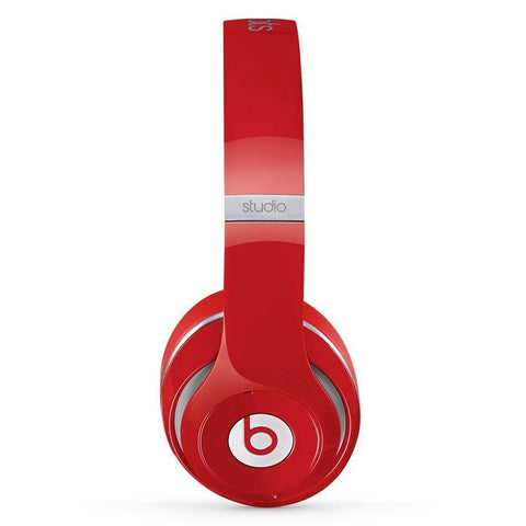 Beats by Dr. Dre Studio 2.0 Wired OverEar Headphone Red