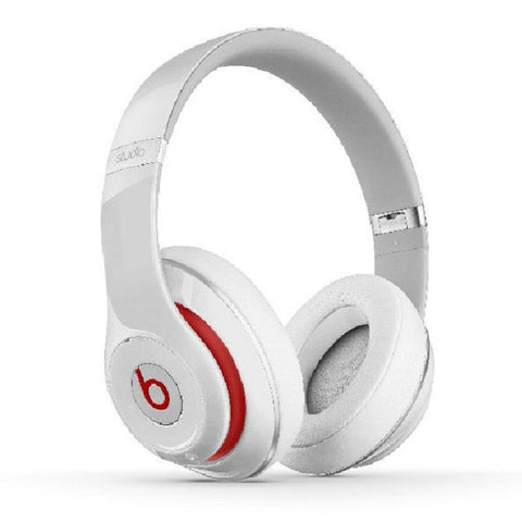 Beats by Dr. Dre Studio 2.0 Wired OverEar Headphone White (MH7E2ZP/A)