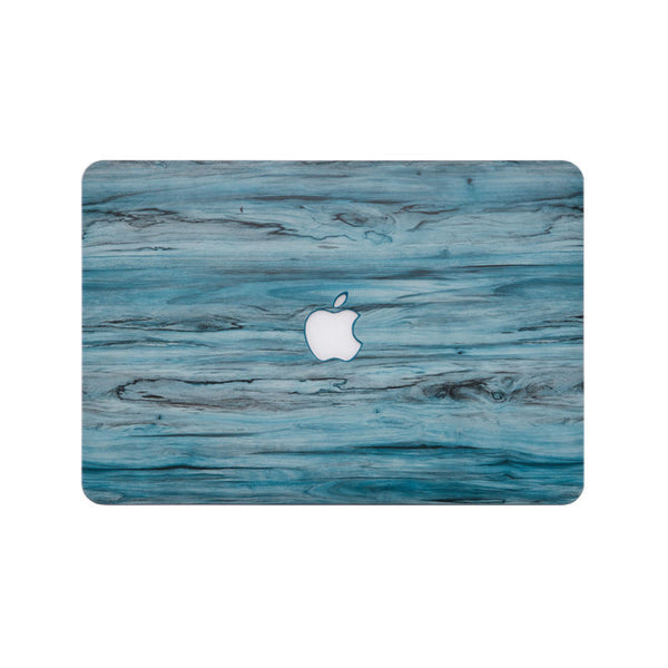 Wood Pattern Protective Shell for 13 inch MacBook Pro (Blue)