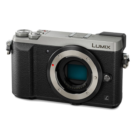 Panasonic Lumix DMC-GX85 Body Silver Digital Camera