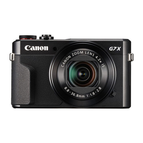 Canon Powershot G7 X Mark II Black Digital Camera
