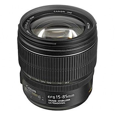 Canon EF-S 15-85mm f3.5-5.6 IS USM Lens (White Box)