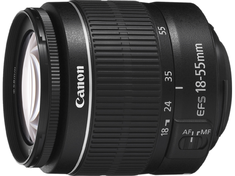 Canon EF-S 18-55mm f3.5-5.6 III Lens (White Box)