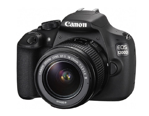 Canon EOS 1200D Kit with EF-S 18-55mm IS II Lens Black Digital SLR Camera