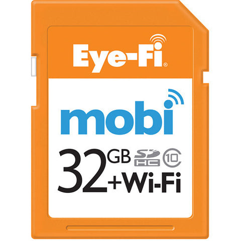 Eye-Fi Mobi 32GB Wifi SDHC Memory Card