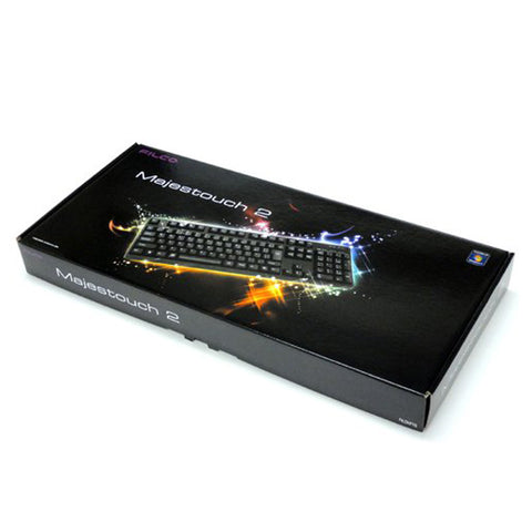 Filco Majestouch-2 Cherry MX Blue Switch 104 Key (FKBN104/EB2) Mechanical US Keyboard