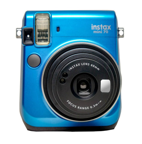 Fuji Film Instax Mini 70 Island Blue Instant Camera