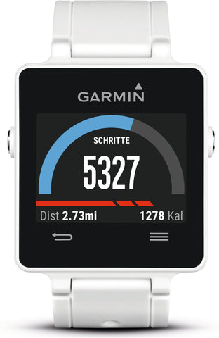 Garmin Vivoactive 010-01297-01 GPS Watch (White)