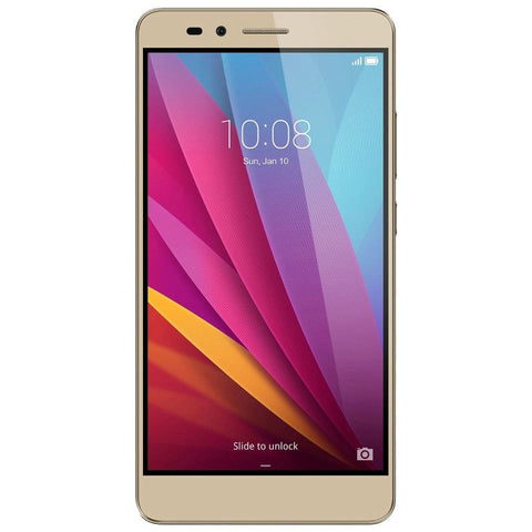 Huawei Honor 5X Dual 16GB 4G LTE Gold KIW-AL10 Unlocked with 3GB RAM (CN Version)
