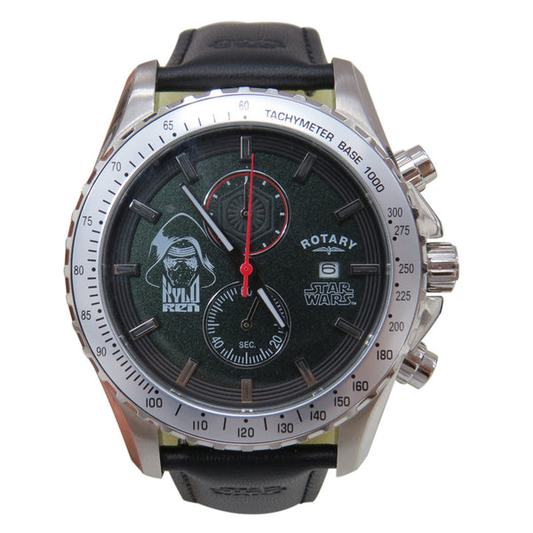 Rotary Star Wars The Force Awakens - Episode VII Collection Kylo Ren RY7001C01 Watch (New with Tags)