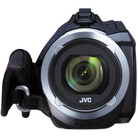 JVC GZ-R10 Quad-Proof HD Black Video Cameras and Camcorders
