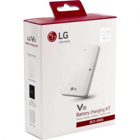 LG BCK-4900 V10 Battery and Battery Charger (White)