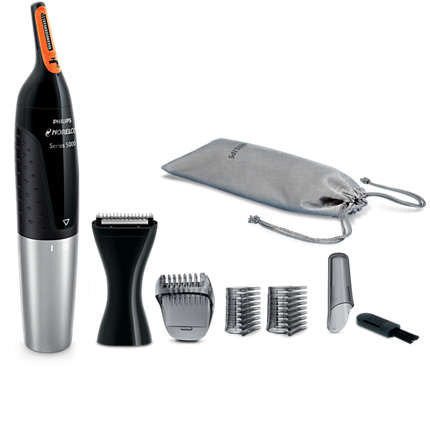 Philips Norelco Series NT5175 Washable Nose, Ear, & Eyebrow Trimmer