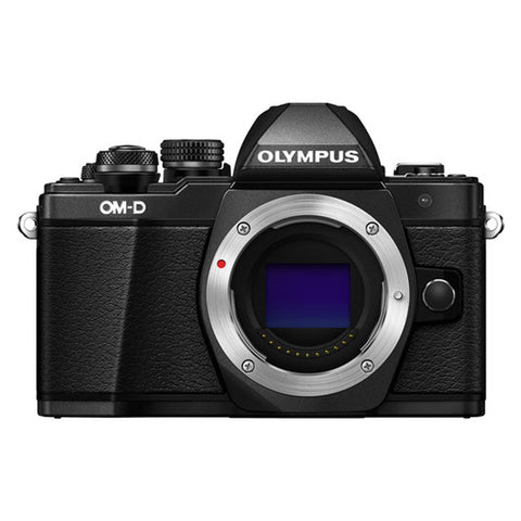 Olympus OM-D E-M10 II Black Digital Camera with 14-42mm EZ and 40-150mm R Twin Kit