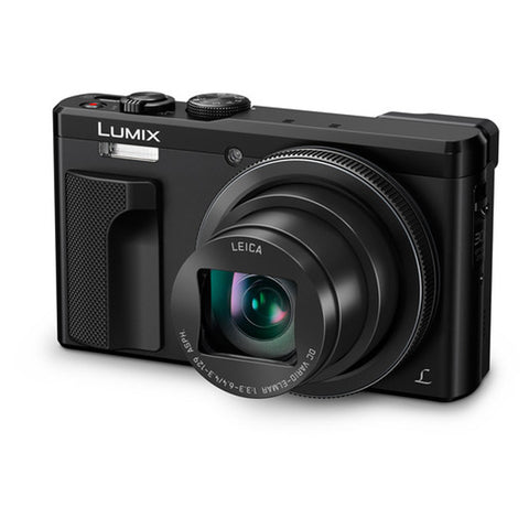 Panasonic Lumix DMC-TZ80/ZS60 Black Digital Camera