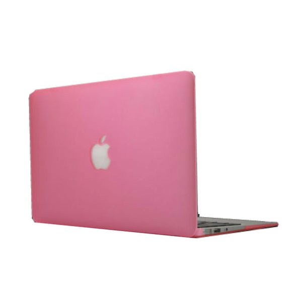 Solid Color Protective Shell for 11 inch MacBook Air (Pink)