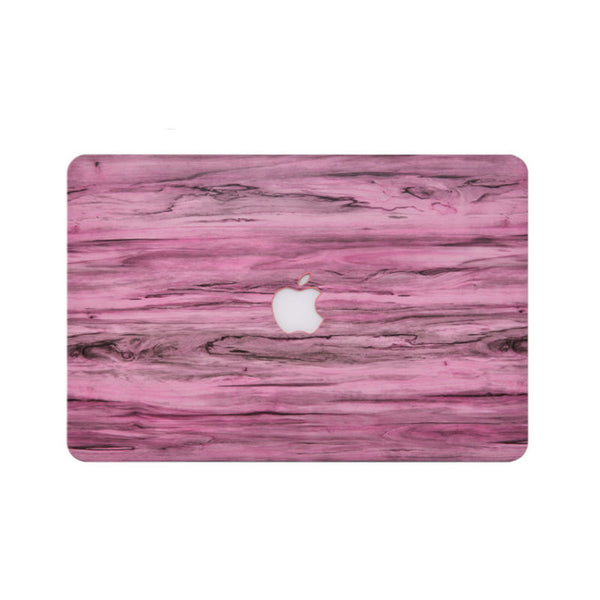 Wood Pattern Protective Shell for 11 inch MacBook Air (Pink)