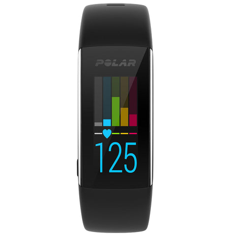 Polar Fitness Tracker A360 90057421 with wrist-based heart rate M (Black)