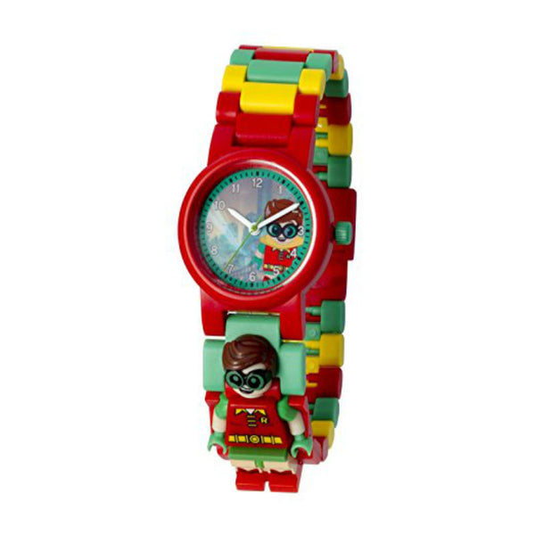 Lego Batman Movie Robin Minifigure Link 8020868 Watch (New with Tags)