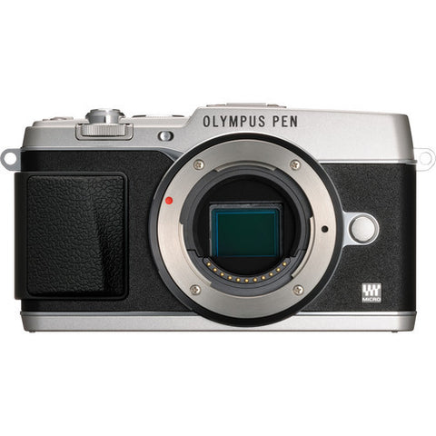 Olympus PEN E-P5 Body Silver Digital Camera