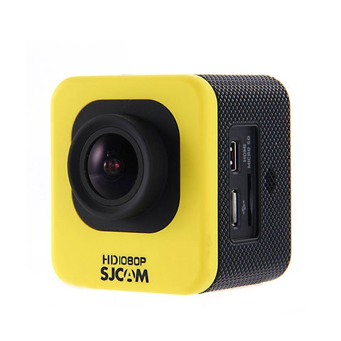 SJCAM M10 Cube Mini 1080p Full HD Action Sport Camera Yellow