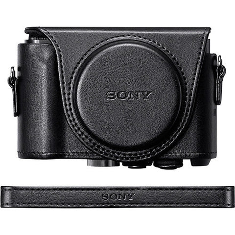 Sony LCJ-HWA Jacket Case for DSC-HX90V/DSC-WX500 (Black)