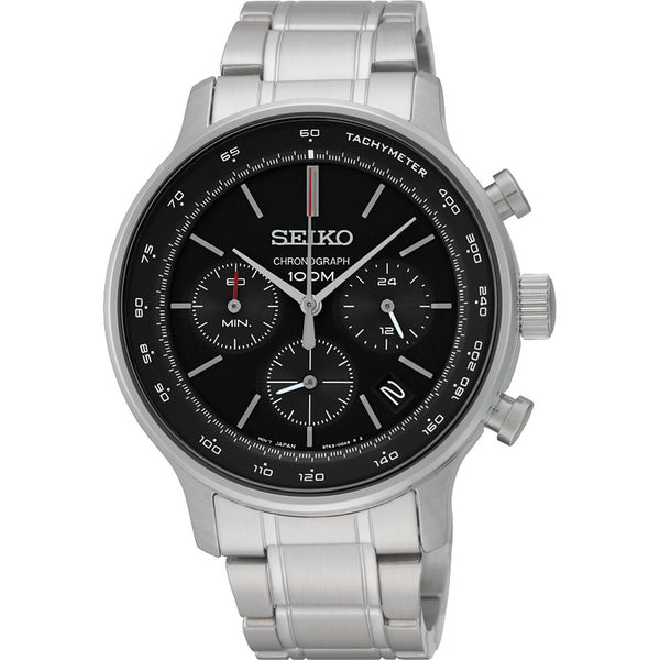Seiko Chronograph SSB165 Watch (New with Tags)