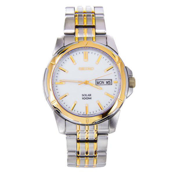 Seiko Solar SNE094 Watch (New with Tags)