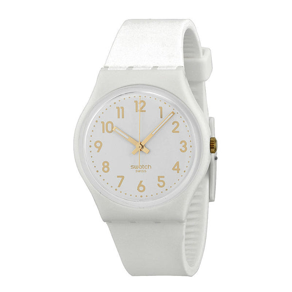 Swatch White Bishop GW164 Watch (New with Tags)
