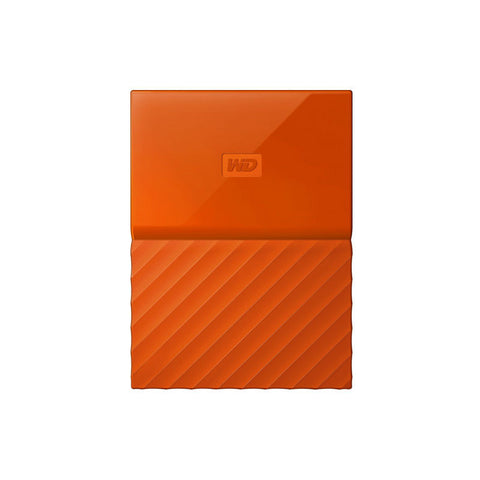 WD My Passport 2TB WDBYFT0020BOR External Hard Drive (Orange)
