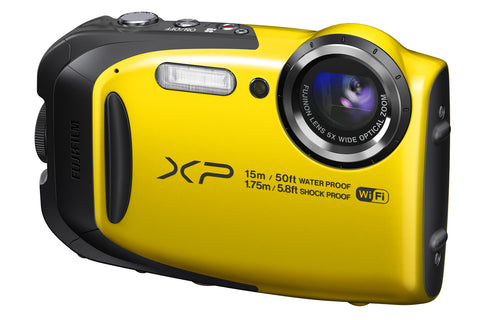 Fuji Film FinePix XP80 Yellow Digital Camera