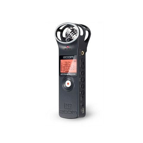 Zoom H1 Ultra-Portable Digital Audio Recorder (Black)