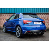 Audi S1 2.0 TFSi Quattro Scorpion SAU045D Resonated cat-back system with electronic valves