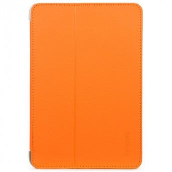 Odoyo Aircoat Folio stabile Hülle für iPad Mini 4 Leuchtend Orange