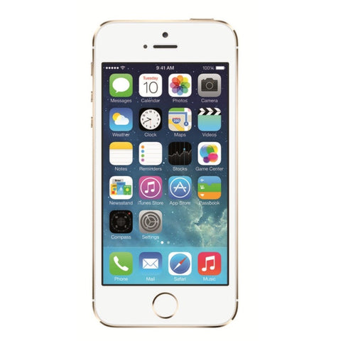 Apple iPhone 5S 16GB 4G LTE Gold entriegelt (renoviert - grade A)