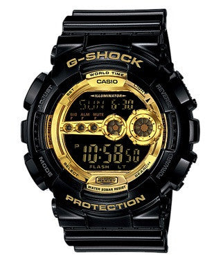 Casio G-Shock Special Color Modell GD-100GB-1 Uhr (Neu mit Etikett)