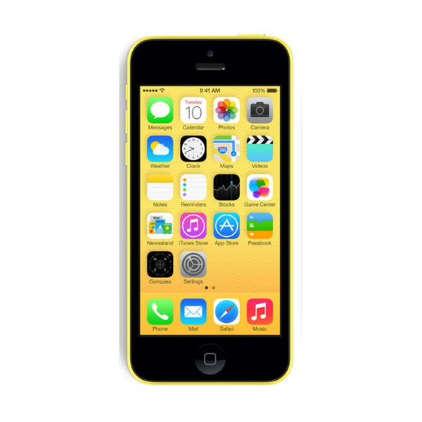 Apple iPhone 5c 32GB 4G LTE Gelb entriegelt (renoviert - grade A)