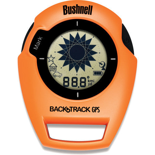 Bushnell Digital Navigation BackTrack Original G2 Orange / Schwarz GPS mit digitalem Kompass 360413