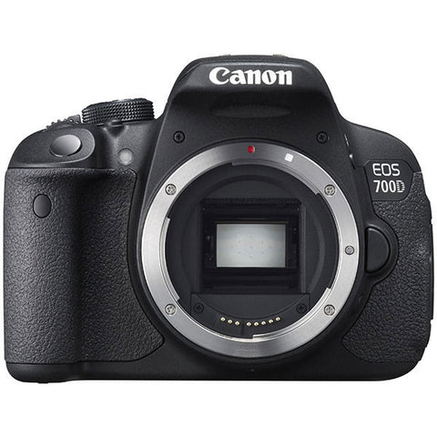 Canon EOS 700D Body Schwarz Digital SLR Kamera (Kit Box)