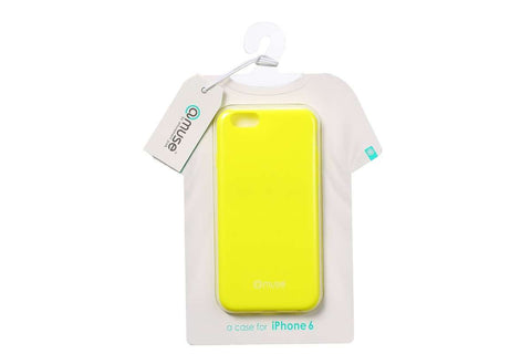 Amuse Wear the iPhone 6 Serie TPU Hülle (Neon Lime)