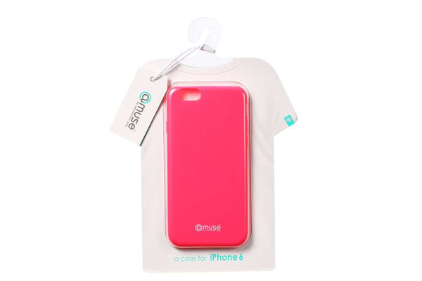 Amuse Wear the iPhone 6 Serie TPU Hülle (Shocking Pink)