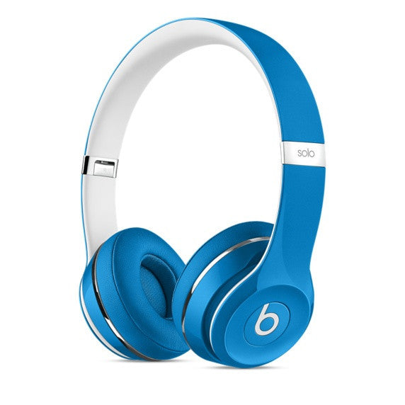 Beats Solo 2 Luxe Edition On-Ear Kopfhörer ML9F2PA/A (Blau)