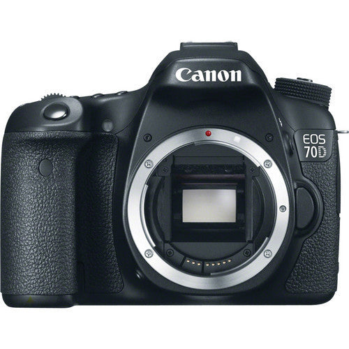 Canon EOS 70D Body Schwarz Digital SLR Kamera (Kit Box)