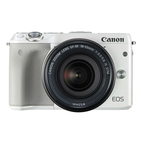 Canon EOS M3 mit EF-M 15-45mm f/3.5-6.3 IS STM Wei� Digital SLR Kamera