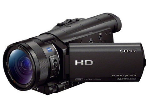 Sony HDR-CX900E Flash Memory HD Schwarz Video Kamera und Camcorders