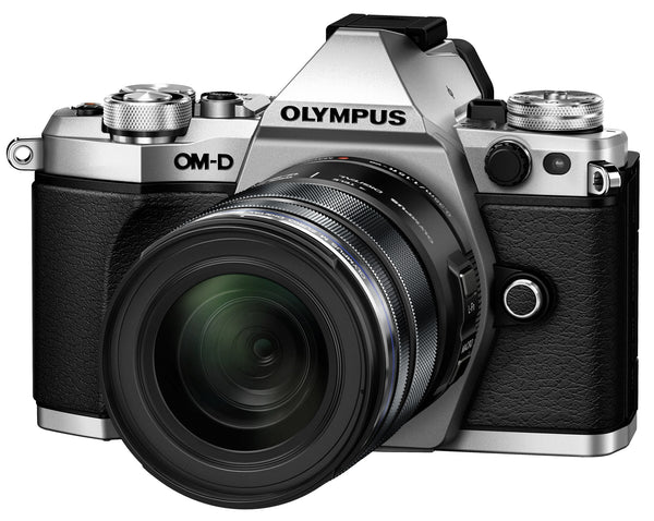 Olympus OM-D E-M5 Mark II with 12-40mm Silber Digital SLR Kamera